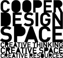 COOPER DESIGN SPACE CREATIVE THINKING CREATIVE SPACE CREATIVE RESOURCES