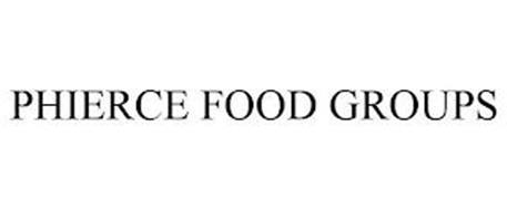 PHIERCE FOOD GROUPS