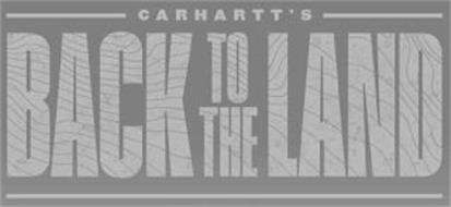 CARHARTT'S BACK TO THE LAND