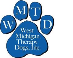 WMTD WEST MICHIGAN THERAPY DOGS, INC.