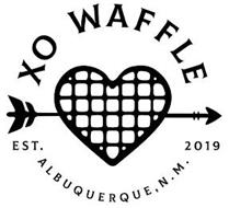 XO WAFFLE EST. 2019 ALBUQUERQUE, N. M.
