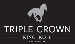 TRIPLE CROWN KING KOIL MATTRESS CO.