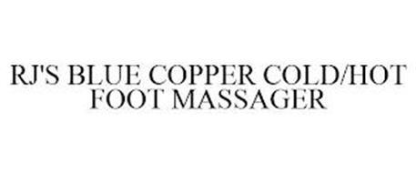 RJ'S BLUE COPPER COLD/HOT FOOT MASSAGER