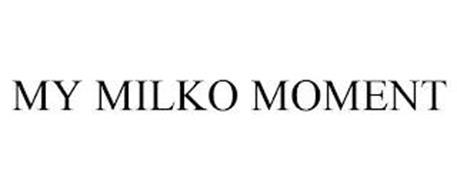 MY MILKO MOMENT