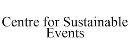 CENTRE FOR SUSTAINABLE EVENTS