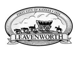 FIRST CITY OF KANSAS 1854 LEAVENWORTH