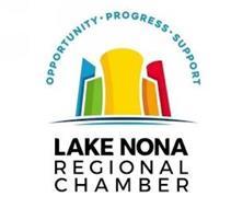 OPPORTUNITY · PROGRESS · SUPPORT LAKE NONA REGIONAL CHAMBER