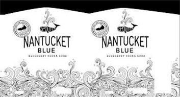 NANTUCKET BLUE BLUEBERRY VODKA SODA SPOUTER NANTUCKET CRAFT COCKTAILS TRIPLE EIGHT EST. 2020