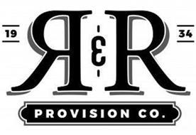 R&R PROVISION CO. 1934