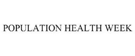 POPULATION HEALTH WEEK