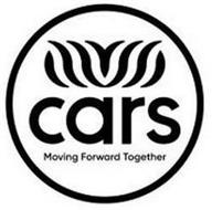 CARS MOVING FORWARD TOGETHER