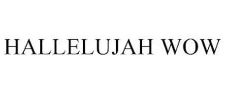 HALLELUJAH WOW