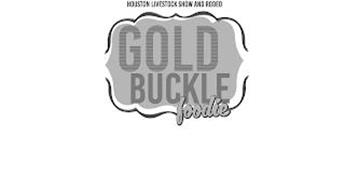 HOUSTON LIVESTOCK SHOW AND RODEO GOLD BUCKLE FOODIE