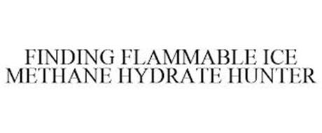 FINDING FLAMMABLE ICE METHANE HYDRATE HUNTER