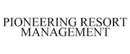 PIONEERING RESORT MANAGEMENT
