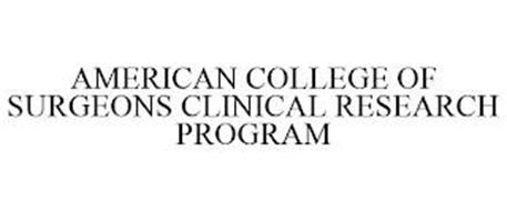 AMERICAN COLLEGE OF SURGEONS CLINICAL RESEARCH PROGRAM