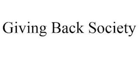 GIVING BACK SOCIETY