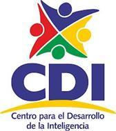 CDI CENTRO PARA EL DESARROLLO DE LA INTELIGENCIA