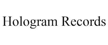 HOLOGRAM RECORDS