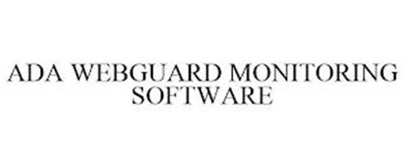 ADA WEBGUARD MONITORING SOFTWARE