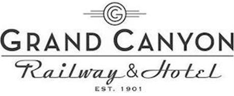 GC GRAND CANYON RAILWAY & HOTEL EST. 1901