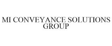 MI CONVEYANCE SOLUTIONS GROUP