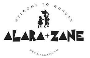 WELCOME TO WONDER ALARA + ZANE WWW.ALARAZANE.COM
