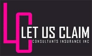 LUC LET US CLAIM CONSULTANTS INSURANCE INC