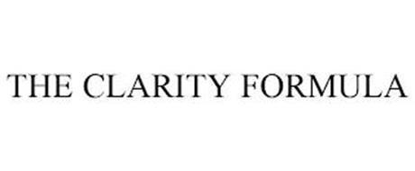 THE CLARITY FORMULA