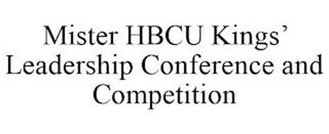 MISTER HBCU KINGS' LEADERSHIP CONFERENCE AND COMPETITION