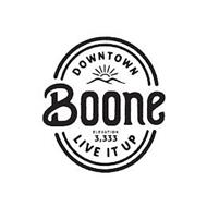 DOWNTOWN BOONE ELEVATION 3,333 LIVE IT UP