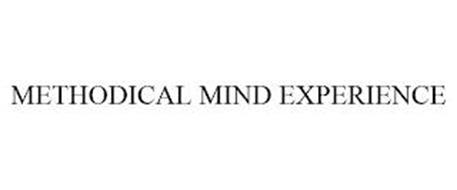 THE METHODICAL MIND EXPERIENCE