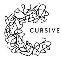 C CURSIVE