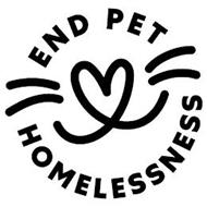 END PET HOMELESSNESS