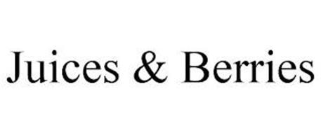 JUICES & BERRIES