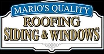 MARIO'S QUALITY ROOFING SIDING & WINDOWS