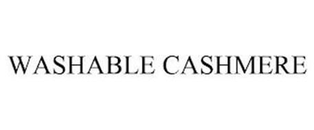 WASHABLE CASHMERE
