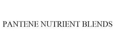 PANTENE NUTRIENT BLENDS