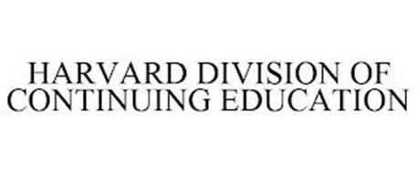 HARVARD DIVISION OF CONTINUING EDUCATION