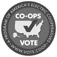 CO-OPS VOTE A PROGRAM OF AMERICA'S ELECTRIC COOPERATIVES WWW.VOTE.COOP
