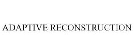 ADAPTIVE RECONSTRUCTION