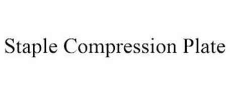 STAPLE COMPRESSION PLATE