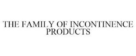 THE FAMILY OF INCONTINENCE PRODUCTS