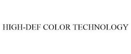 HIGH-DEF COLOR TECHNOLOGY