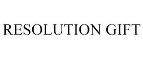 RESOLUTION GIFT