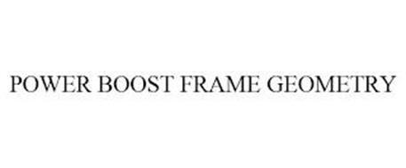 POWER BOOST FRAME GEOMETRY