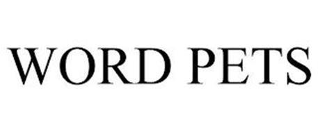 WORD PETS