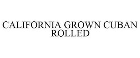 CALIFORNIA GROWN CUBAN ROLLED
