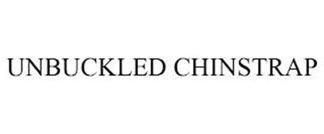 UNBUCKLED CHINSTRAP