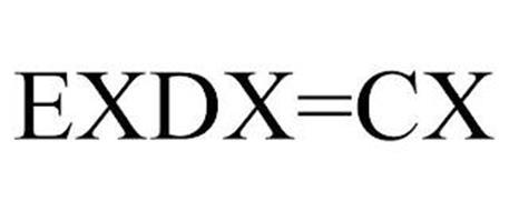EXDX=CX